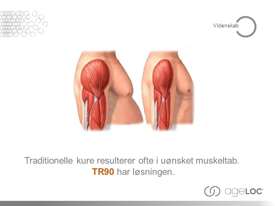 Traditionelle kure resulterer ofte i uønsket muskeltab.