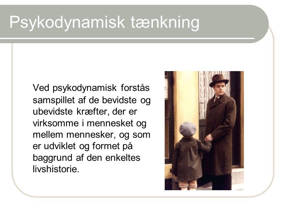 Psykodynamisk tænkning