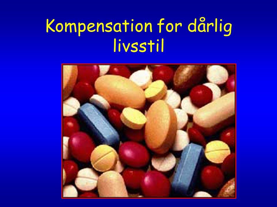 Kompensation for dårlig livsstil