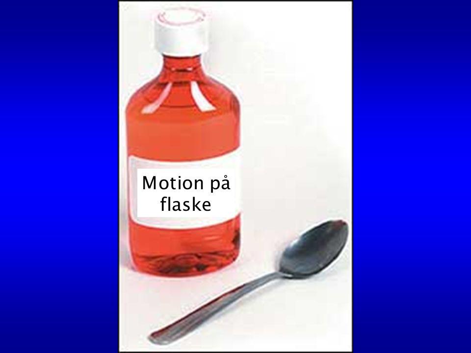 Motion på flaske
