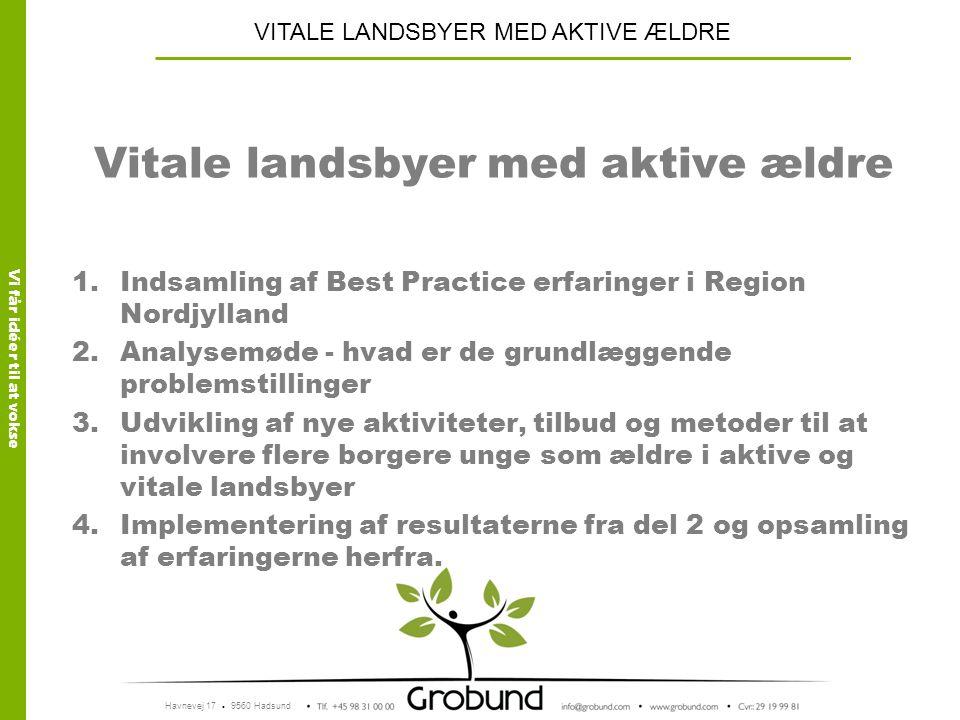 Vitale landsbyer med aktive ældre