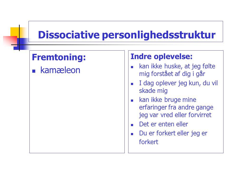 Dissociative personlighedsstruktur