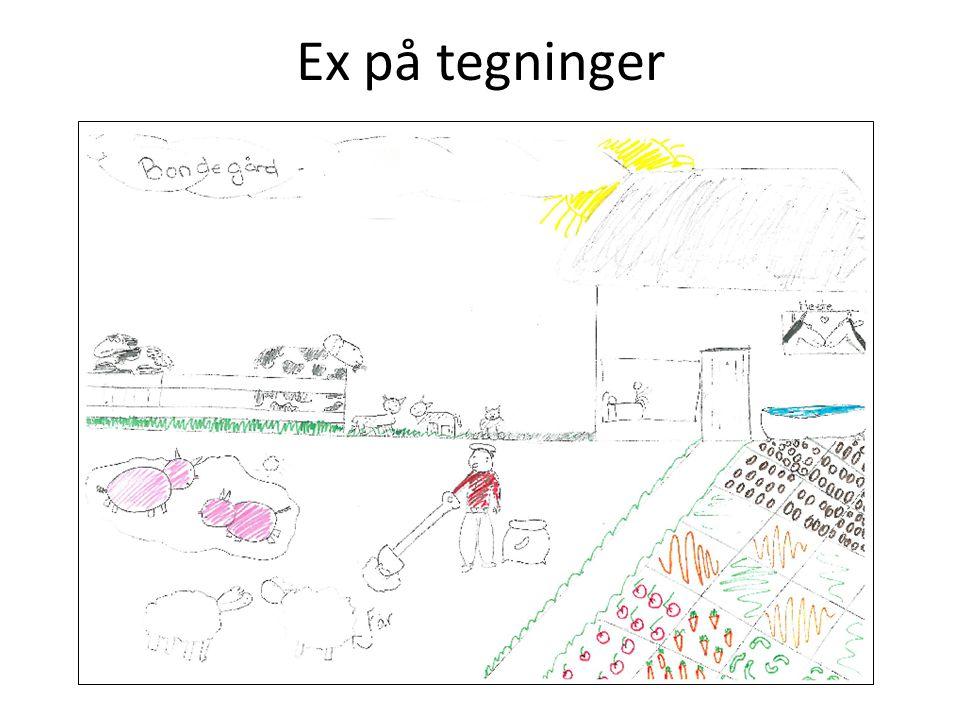 Ex på tegninger