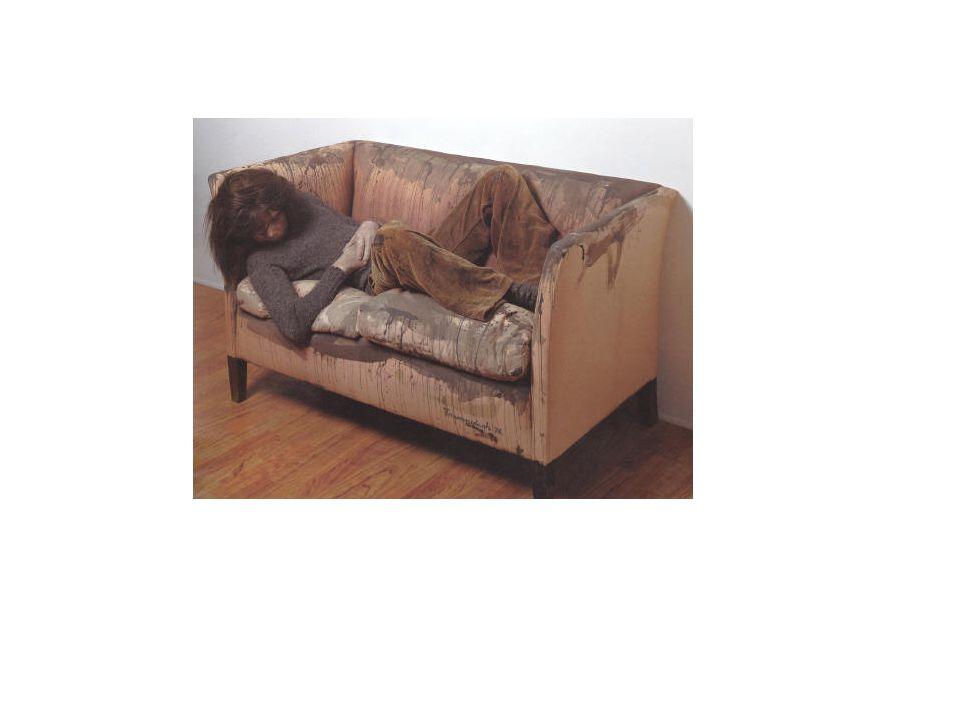 Kurt trampedach: sovende dreng i sofaen 1977