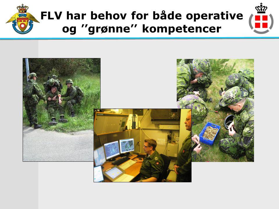 FLV har behov for både operative og ''grønne'' kompetencer