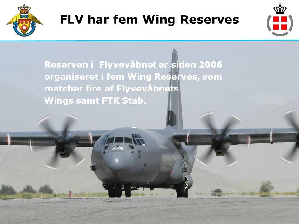 FLV har fem Wing Reserves
