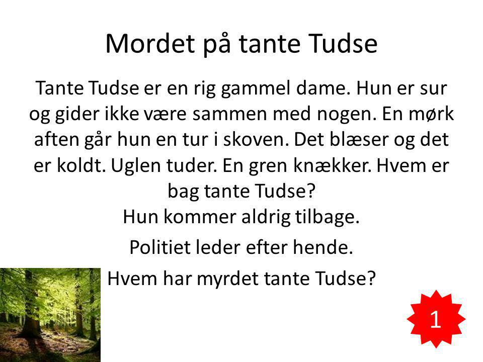 Mordet på tante Tudse