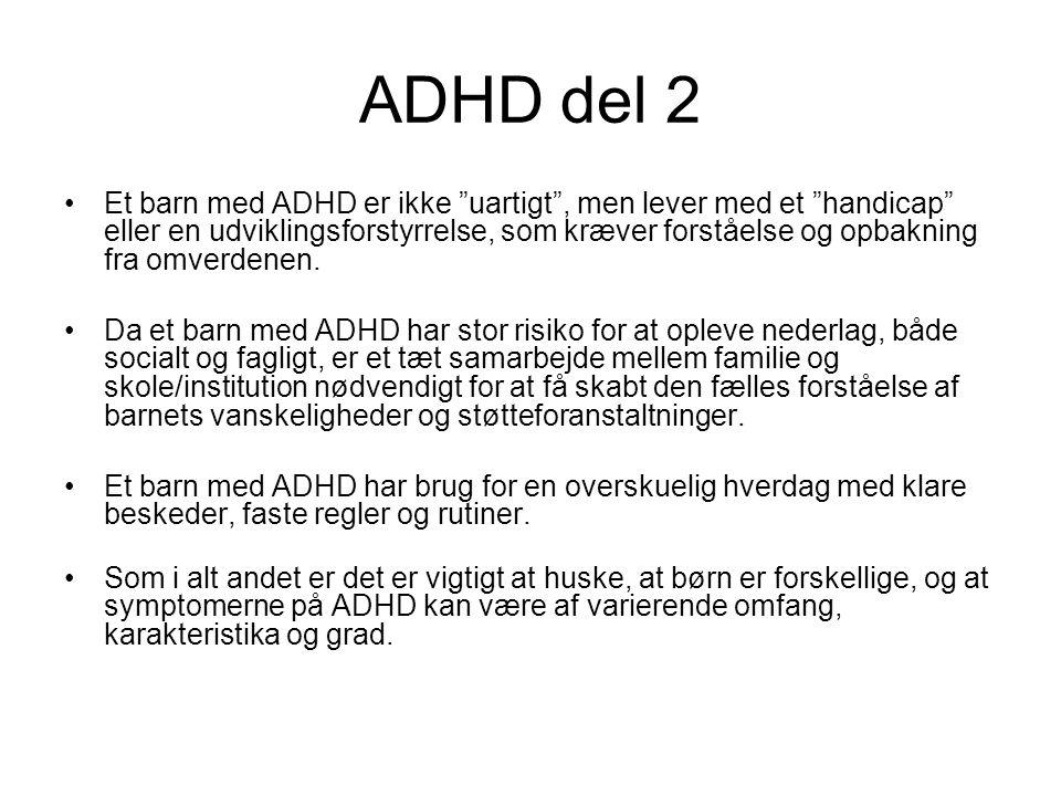 ADHD del 2