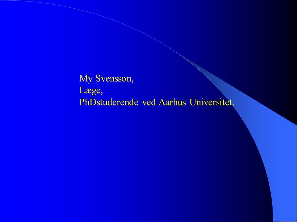 PhDstuderende ved Aarhus Universitet.