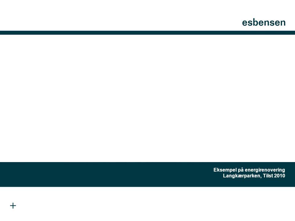 Eksempel på energirenovering Langkærparken, Tilst 2010