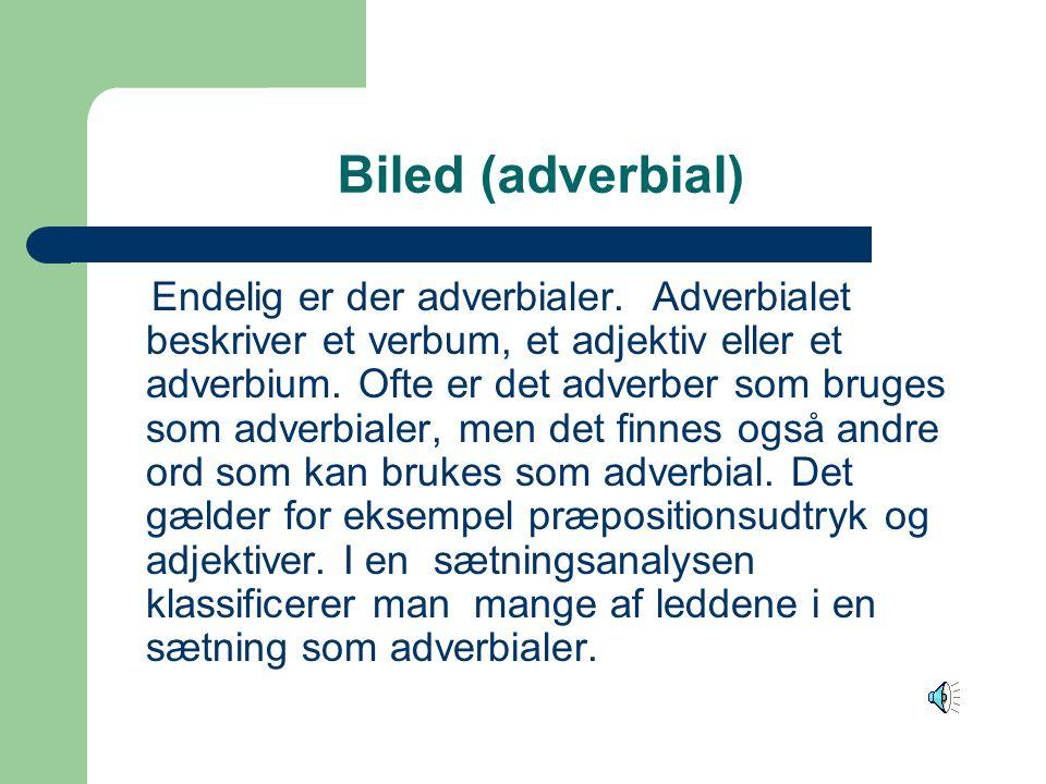Biled (adverbial)