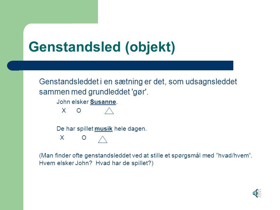 Genstandsled (objekt)