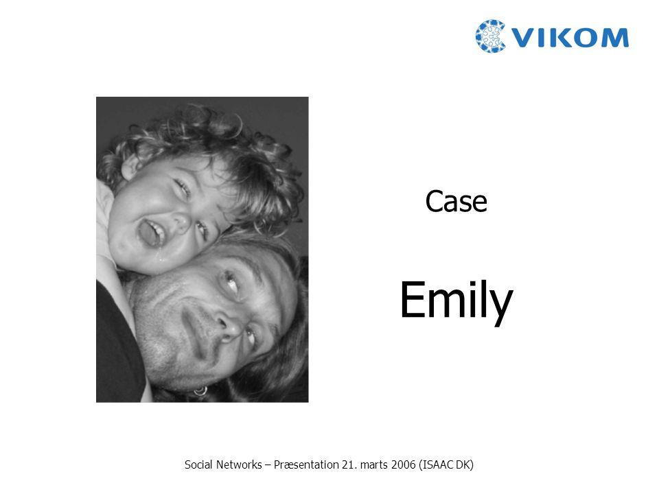 Social Networks – Præsentation 21. marts 2006 (ISAAC DK)