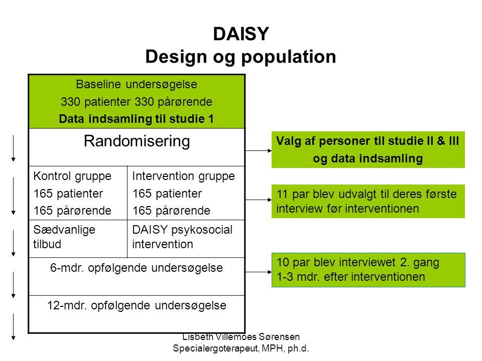DAISY Design og population