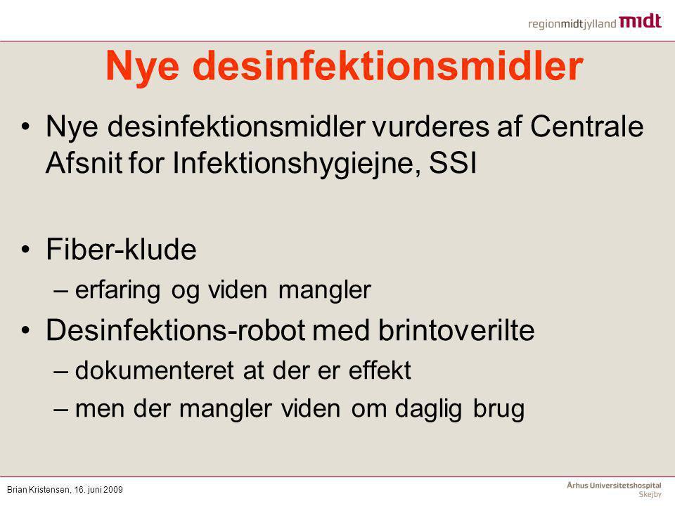 Nye desinfektionsmidler