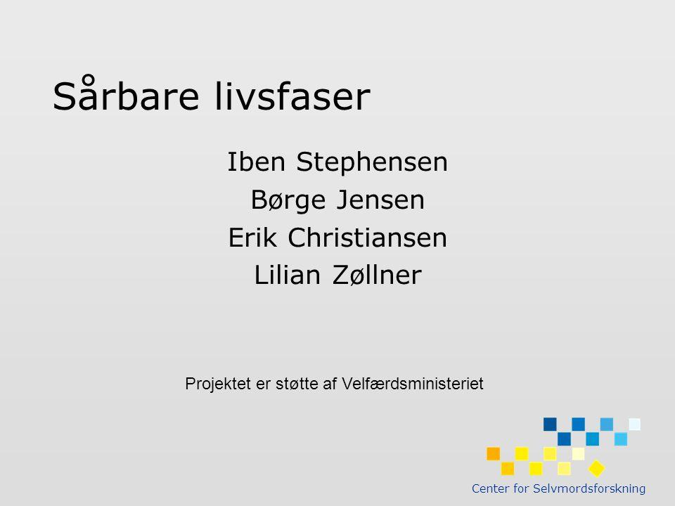 Iben Stephensen Børge Jensen Erik Christiansen Lilian Zøllner