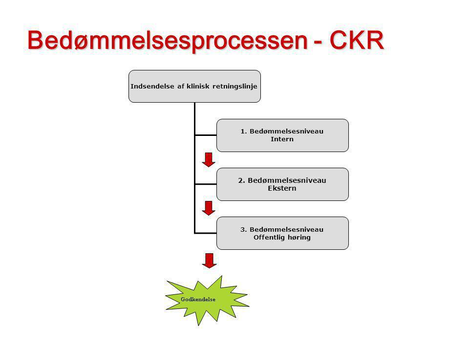 Indsendelse af klinisk retningslinje