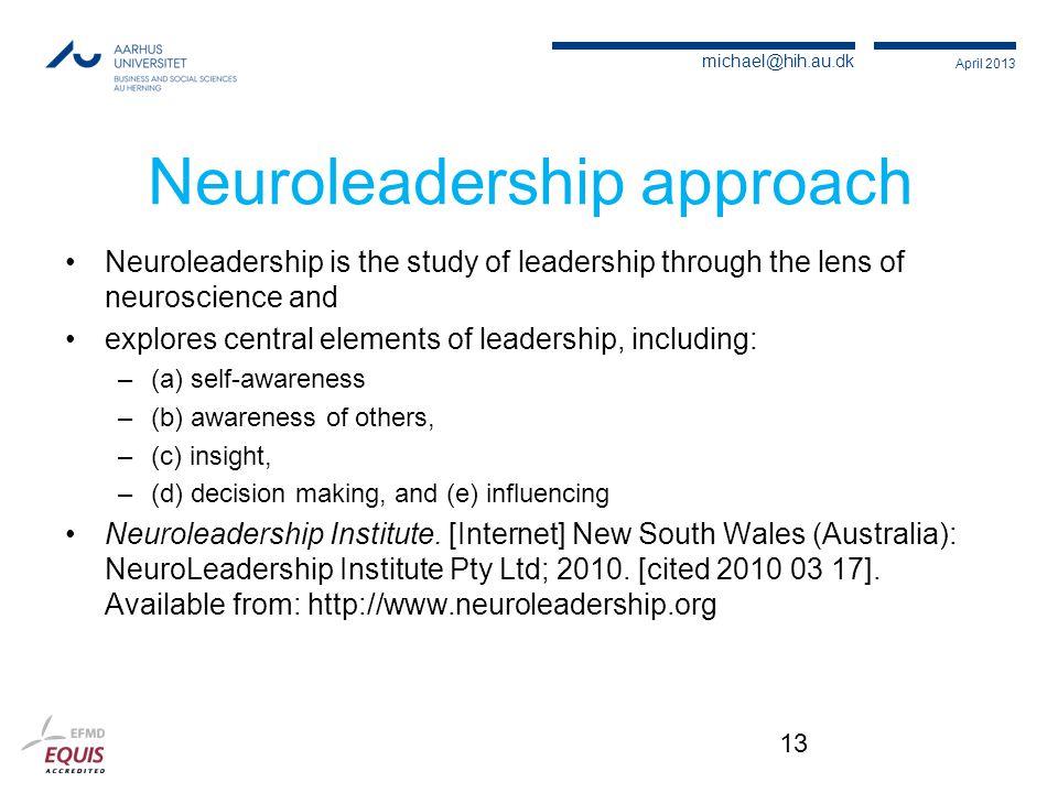 Neuroleadership approach