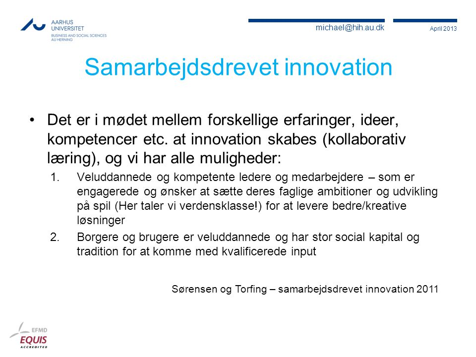 Samarbejdsdrevet innovation