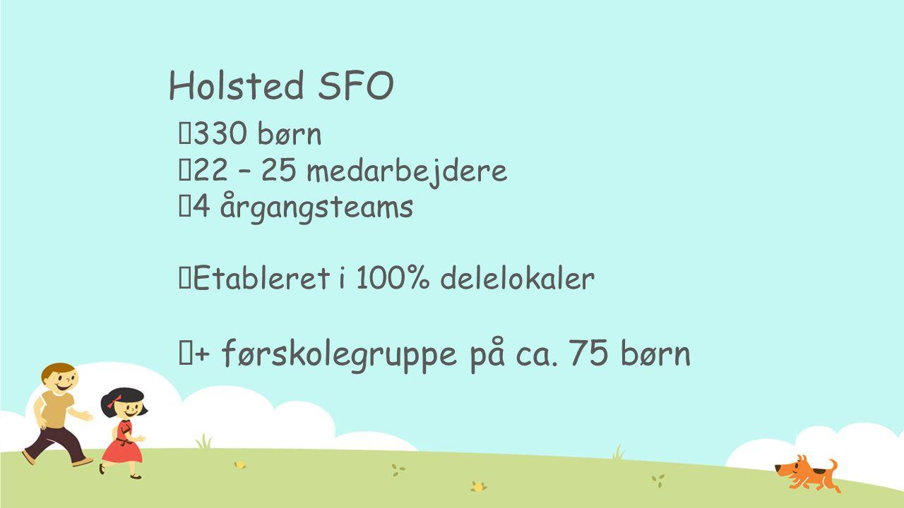 Generel information om SFO'en