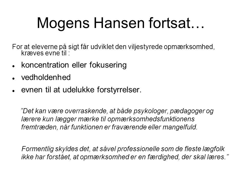Mogens Hansen fortsat…
