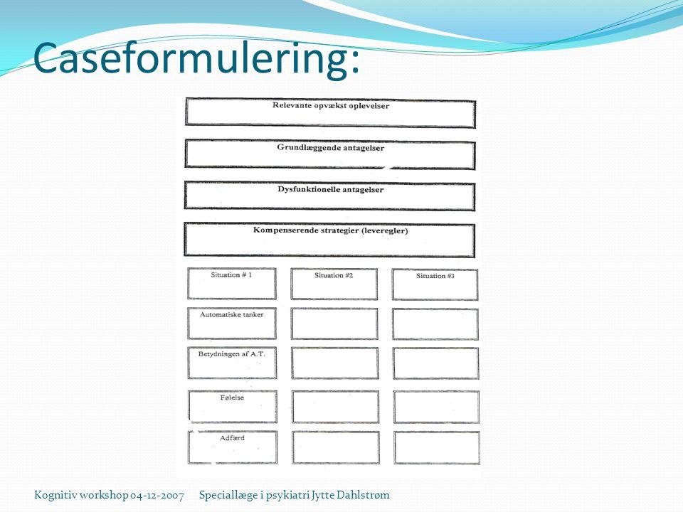 Caseformulering: