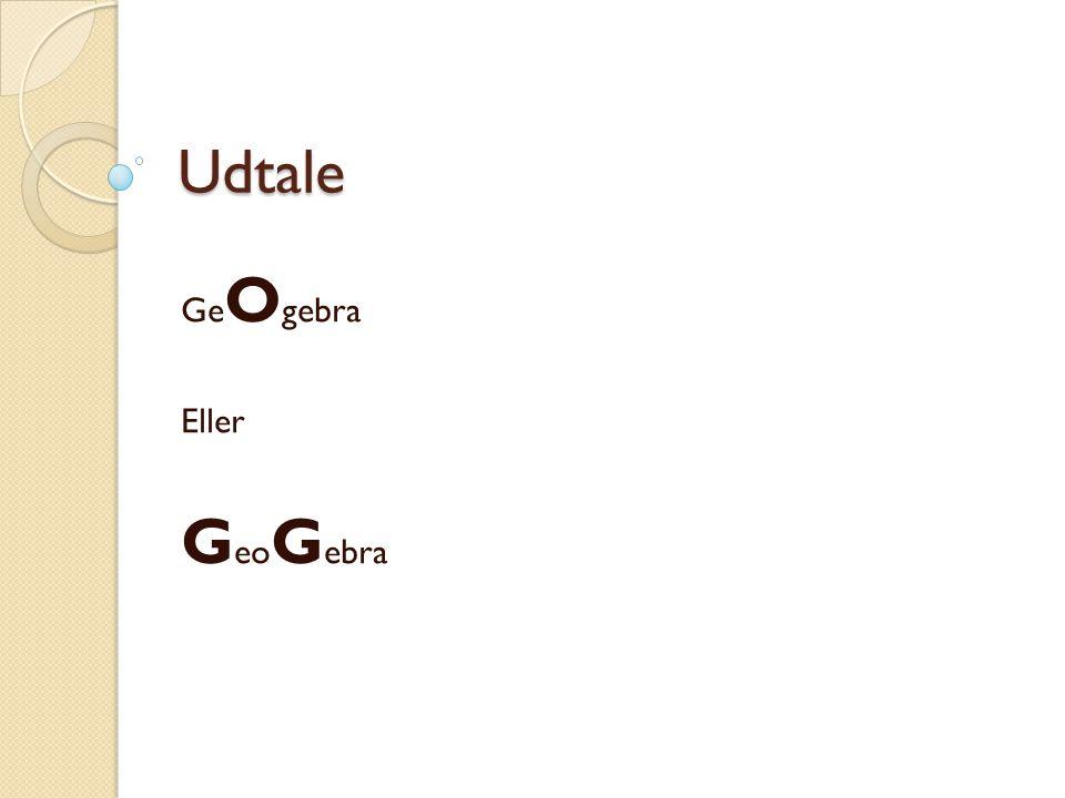 GeOgebra Eller GeoGebra