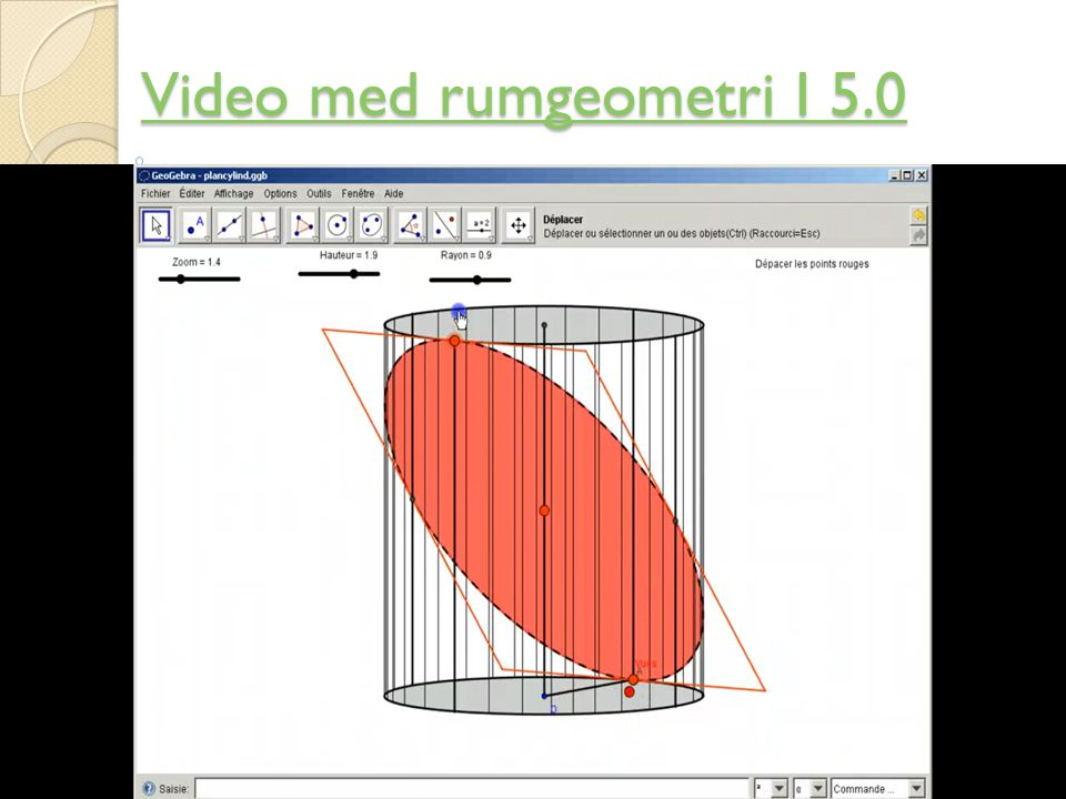 Video med rumgeometri I 5.0