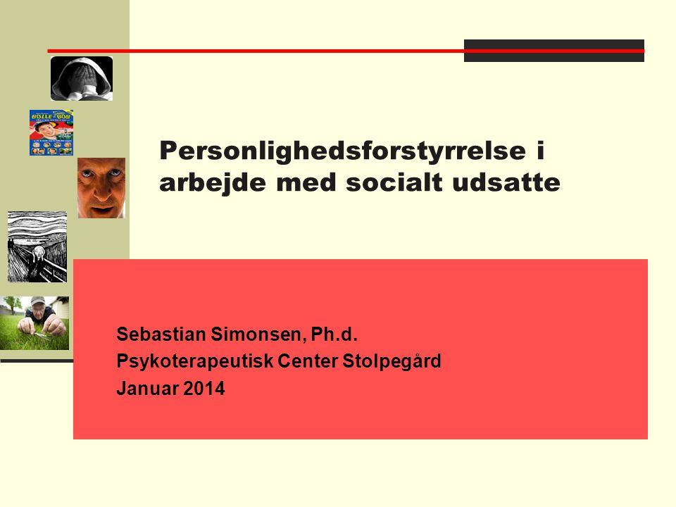 Personlighedsforstyrrelse i arbejde med socialt udsatte