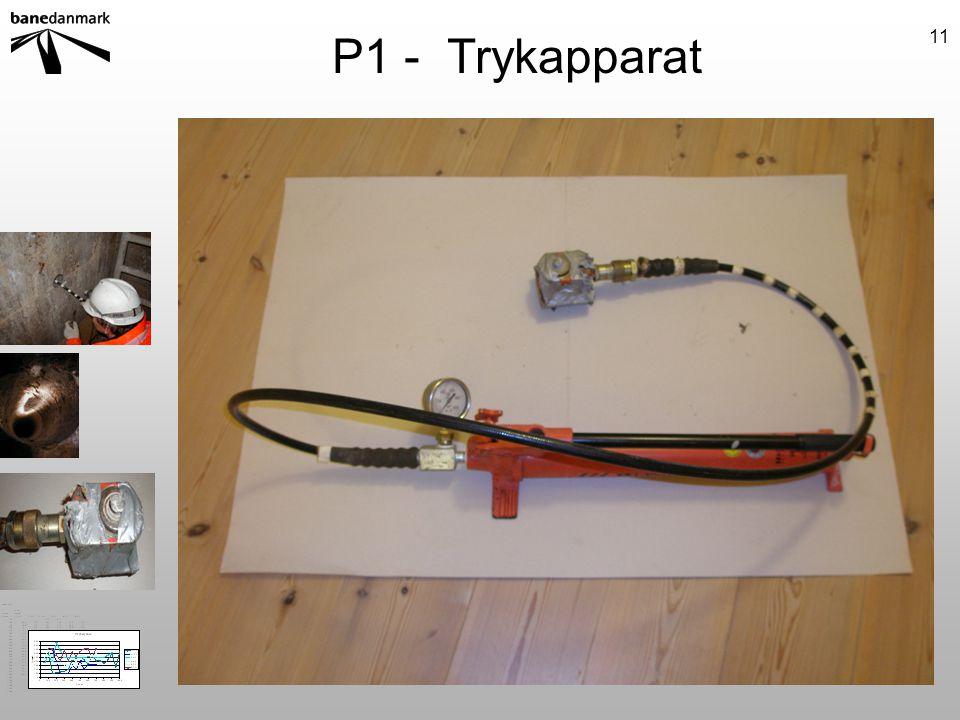 P1 - Trykapparat