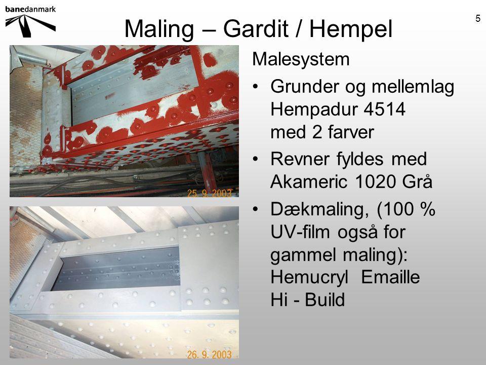 Maling – Gardit / Hempel