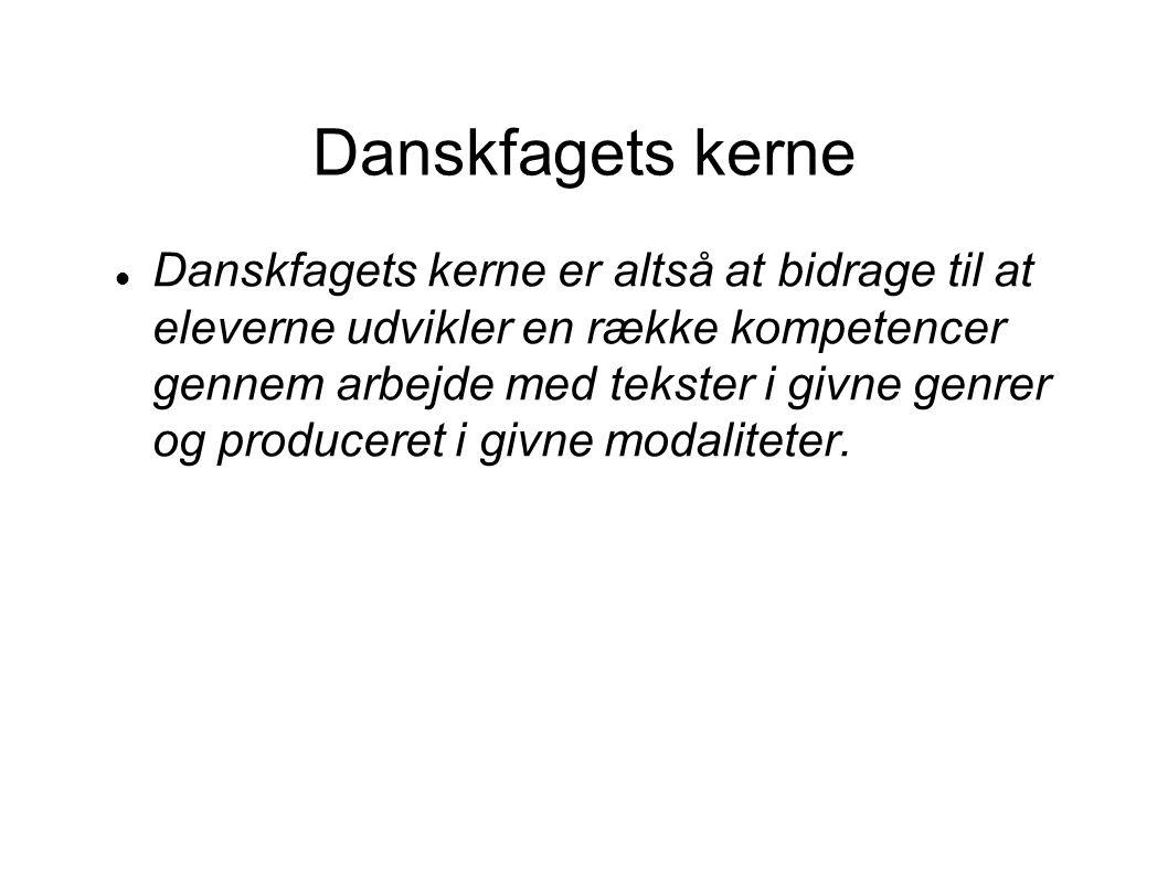 Danskfagets kerne