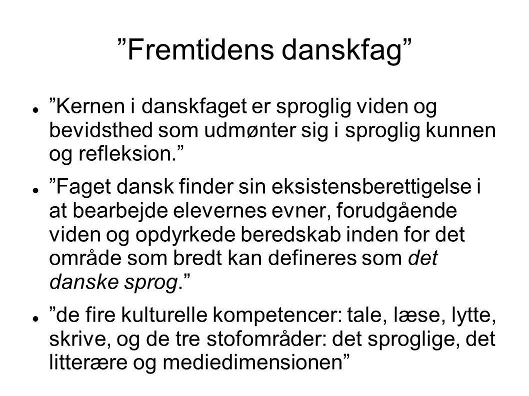 Fremtidens danskfag