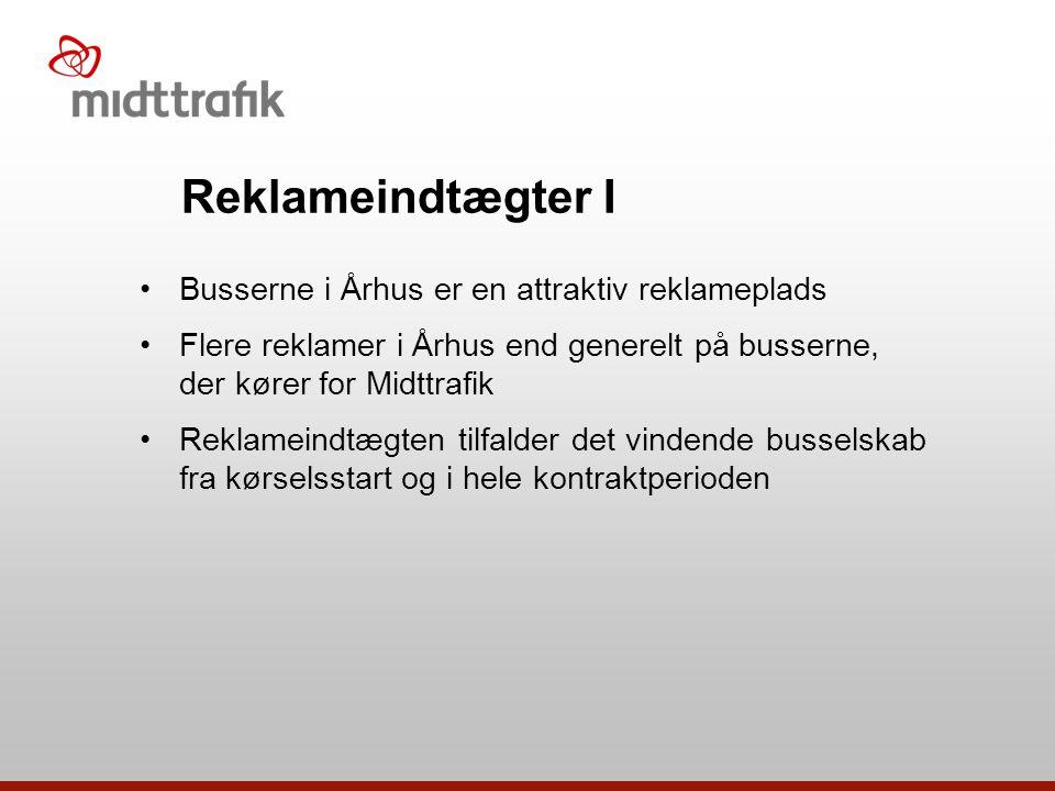 Reklameindtægter I Busserne i Århus er en attraktiv reklameplads