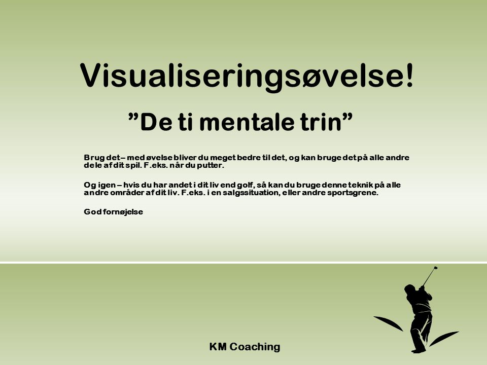 Visualiseringsøvelse!