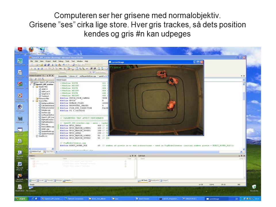 Computeren ser her grisene med normalobjektiv