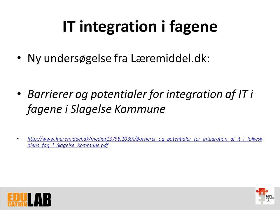 IT integration i fagene