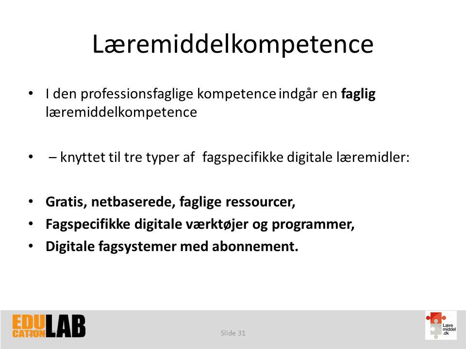 Læremiddelkompetence