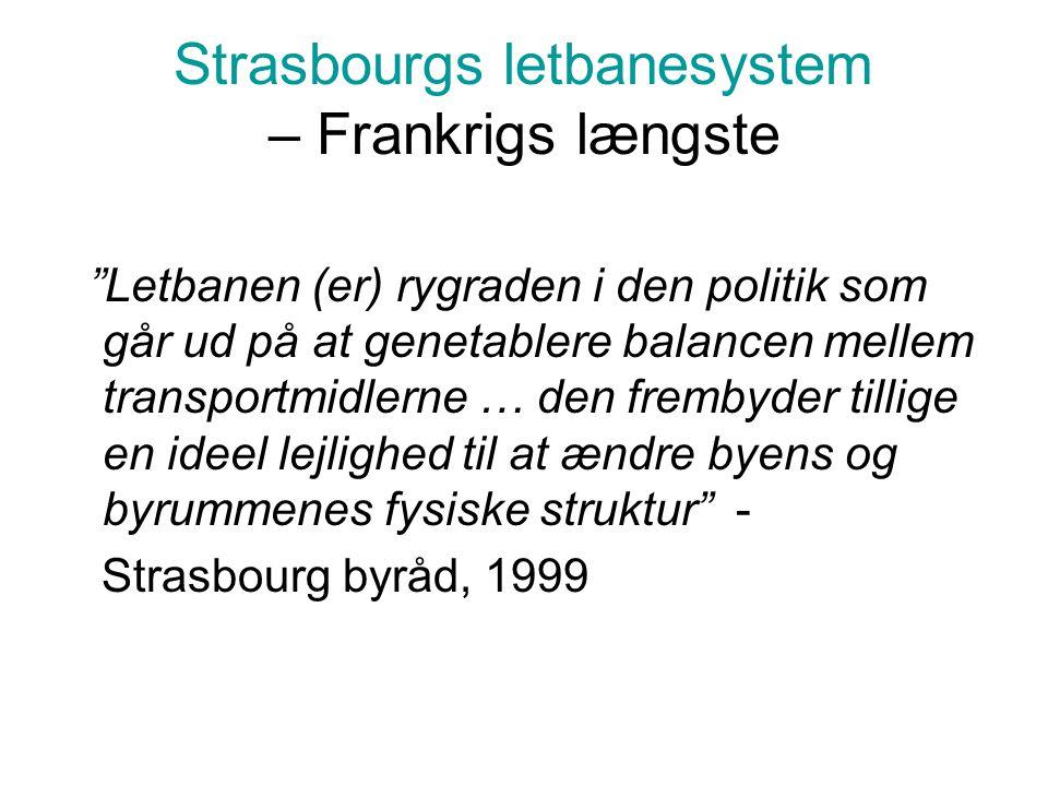 Strasbourgs letbanesystem – Frankrigs længste