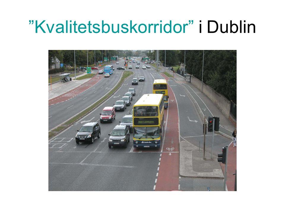 Kvalitetsbuskorridor i Dublin