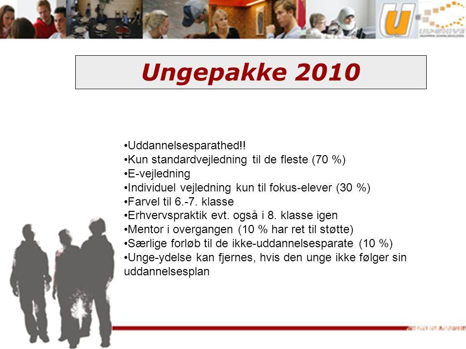 Ungepakke 2010 Uddannelsesparathed!!