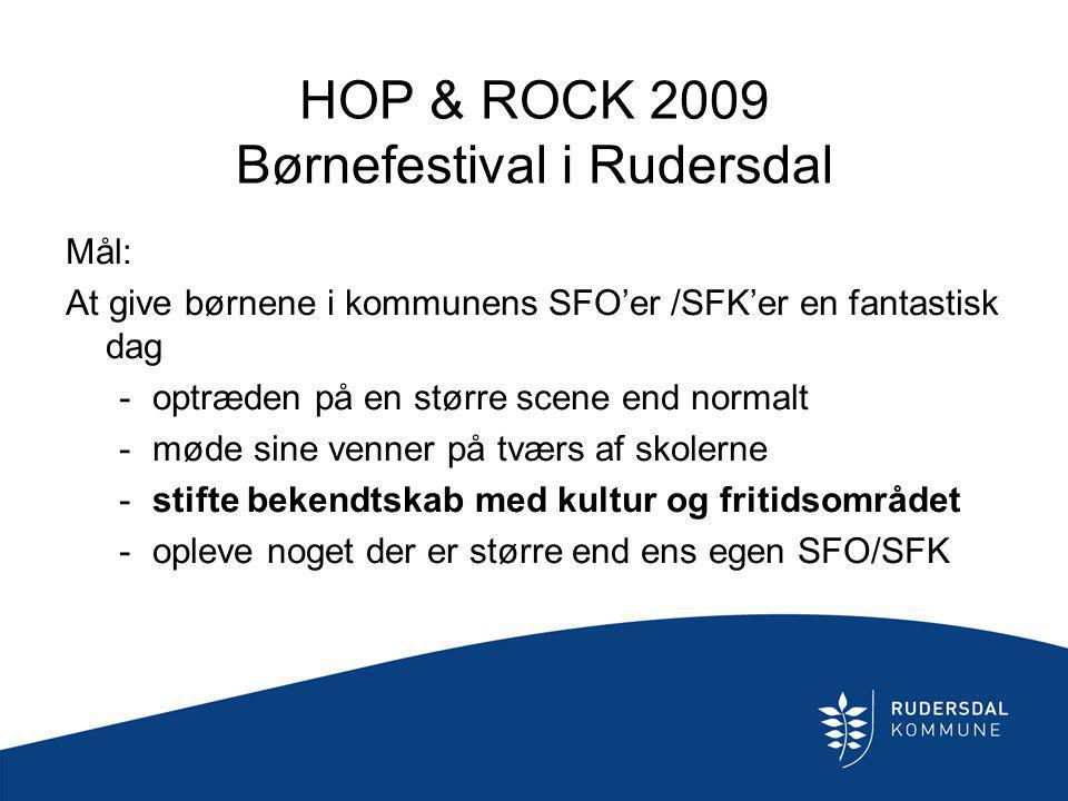 HOP & ROCK 2009 Børnefestival i Rudersdal