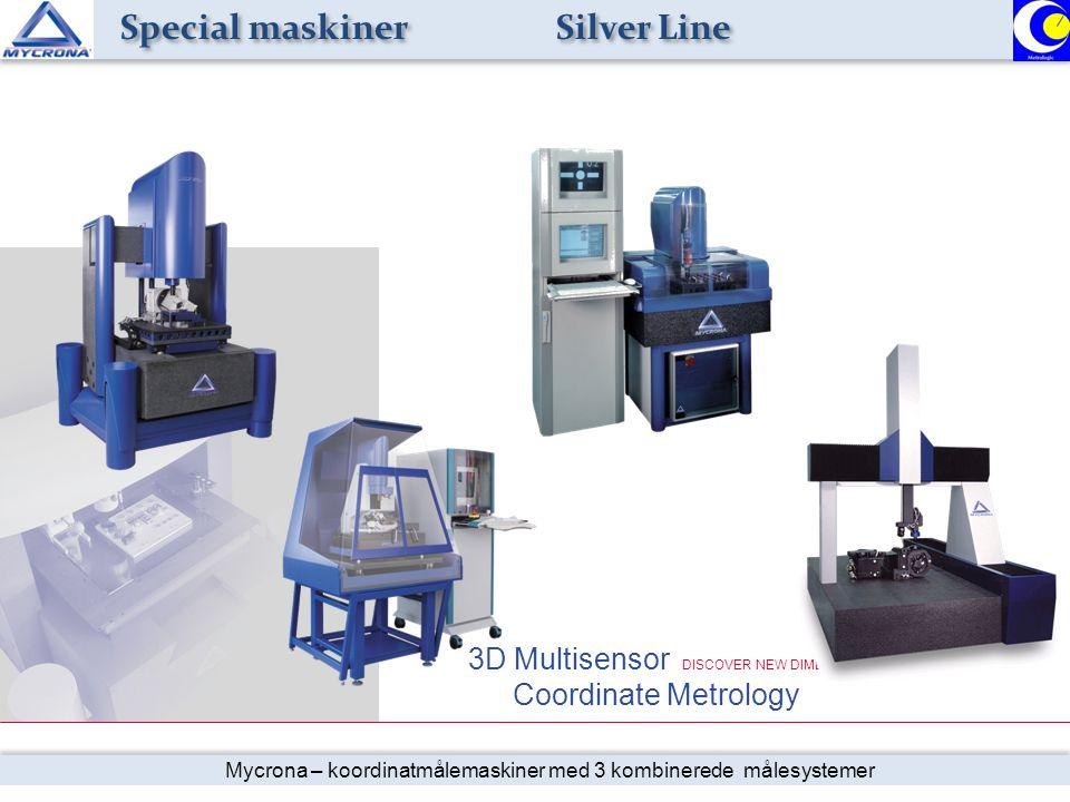 Special maskiner Silver Line