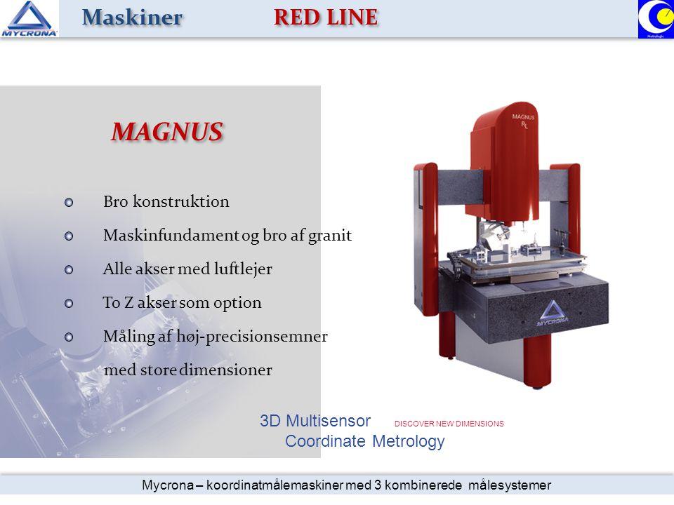 MAGNUS Maskiner RED LINE Bro konstruktion