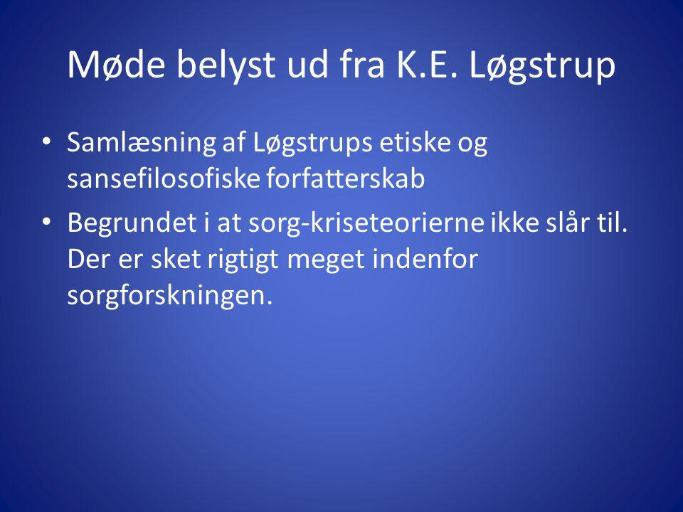 Møde belyst ud fra K.E. Løgstrup