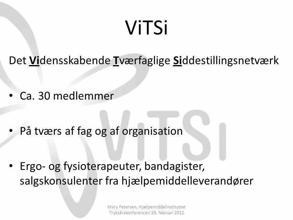 ViTSi Det Vidensskabende Tværfaglige Siddestillingsnetværk