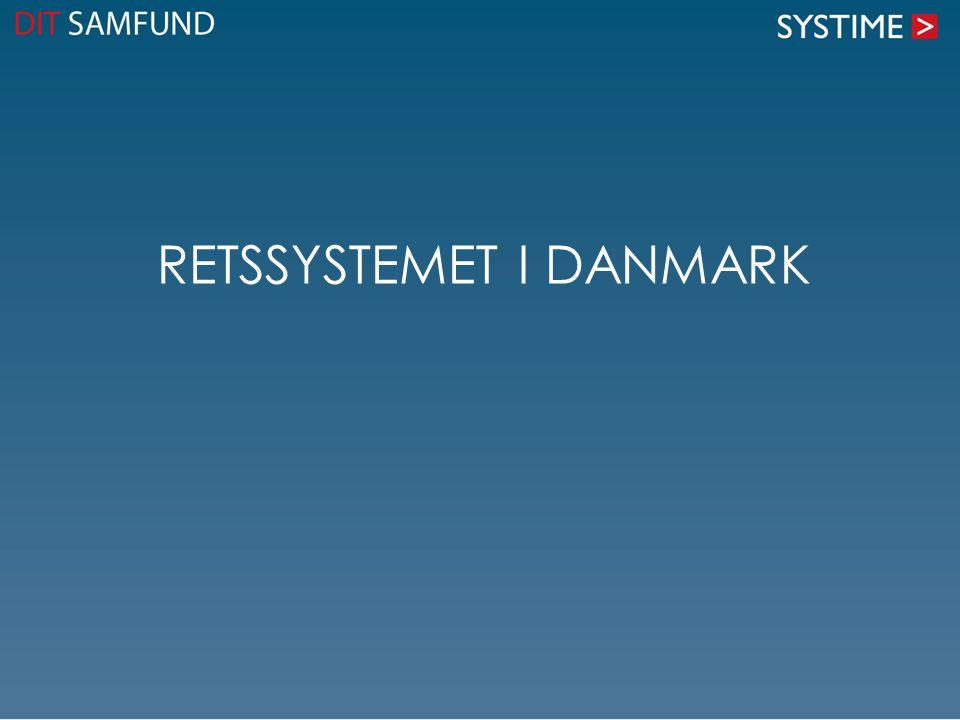 Retssystemet i Danmark