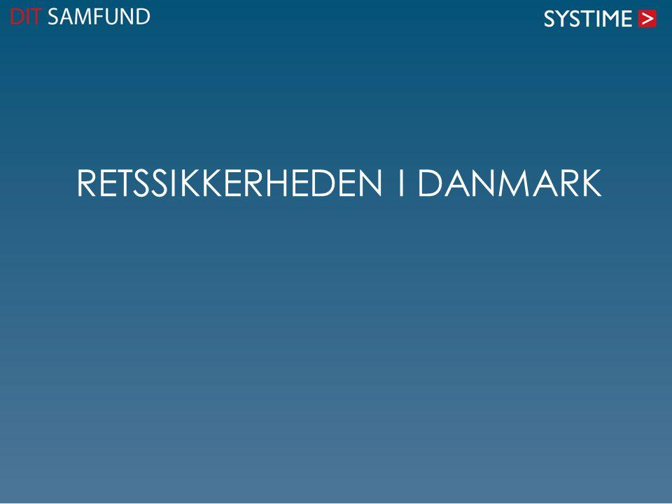 Retssikkerheden i Danmark