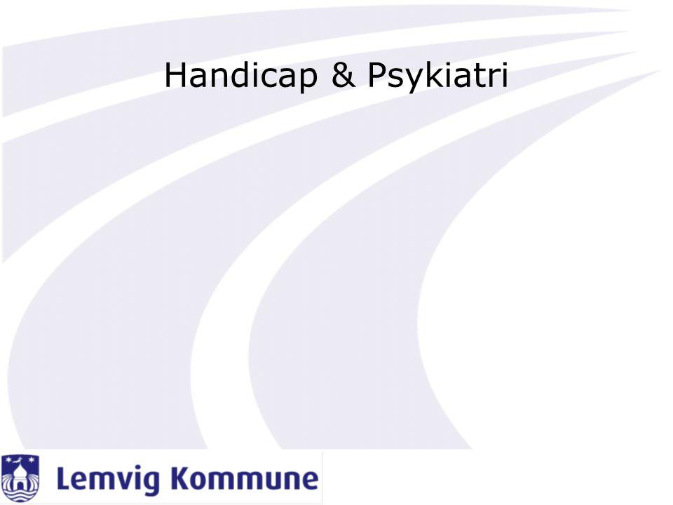 Handicap & Psykiatri