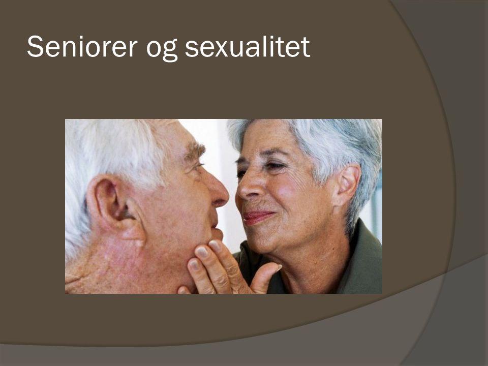 Seniorer og sexualitet